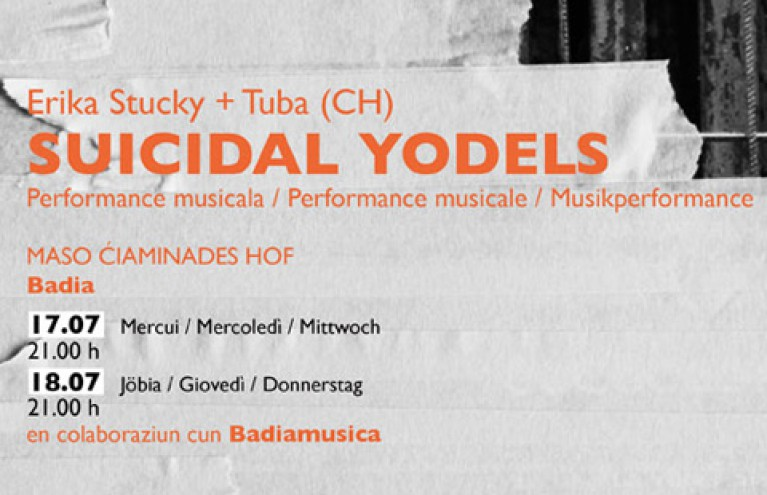 SUIZIDAL YODELS - Progetto con ATERTEATER